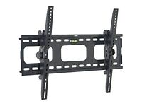 "VonHaus TV Wall Tilt Wall Bracket 33"" - 60"" TVs . Build in Spirit level- Brand New and Boxed"