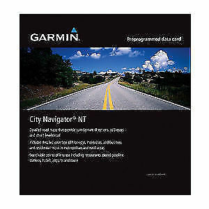 2017 North America / Europe Map for Garmin GPS