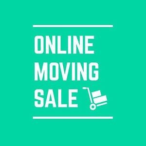 Online Moving Sale - Everything must go!