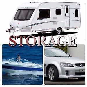 SECURE BUDGET HARDSTAND STORAGE $22.73+gst/week Cars, Caravans