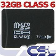 Micro SD Speicherkarte 32GB Class 6