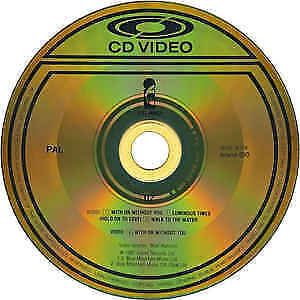 U2 WITH OR WITHOUT YOU CD VIDEO PROMO SUPER RARE.
