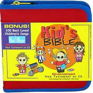 *Kid's Bible, Dramatized CEV New Testament - Audio Bible on CD