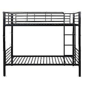 Brand New Black Metal Sturdy Bunk Beds with new mattresses