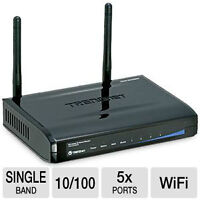 TRENDnet TEW-652BRP Wireless-b/g/N Home Router - Up to 300Mbps,