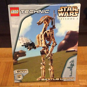 8001 Technic Battle droid Star Wars Lego Complet