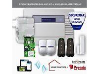 Security Burglar Alarm - Mobile App to control the Alarm