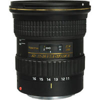 Tokina AT-X 116 PRO DX-II 11-16mm f/2.8 for Canon