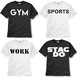 CUSTOM: Shirts and wear apparel - your text & logo