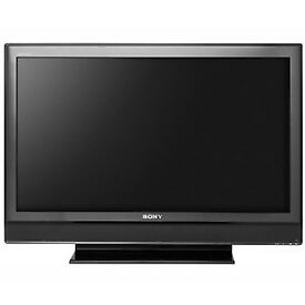 SOLD Sony Bravia HD ready LCD TV 40 inch black with stand widescreen