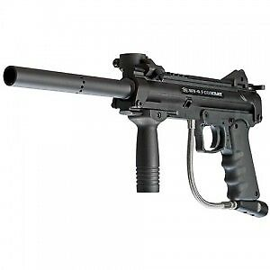 BT-4 COMBAT PAINTBALL MARKER (INCLUDES 3 CO2 TANKS AND 1 MASK)