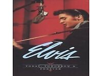 elvis today tomorrow and forever 4 cd + book