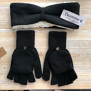 Winter Headband and Fashion Gloves by Bear Paw (Original $60)