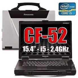 Panasonic Cf-52 Toughbook Laptop 8Gb 1TB SSHD Windows 10 32/64 Bit Rugged.