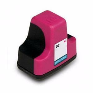 Hp 02 (C8772WN) Ink Cartridge Magenta Remanufactured