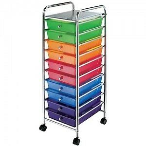 10 Drawer Rolling Organizing Cart from Michaels