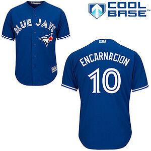 Toronto Blue Jays Edwin Encarnacion Jersey (Mens Large)