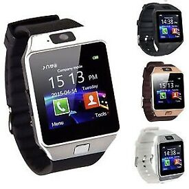 Bluetooth Smart Watch Phone + Camera SIM SLOT For Android IOS Phones.