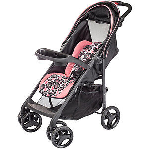 In brand new condition Evenflo Pink & Black Stroller