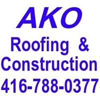 Flat Roof / Shingle Roof:  Commercial & Residential