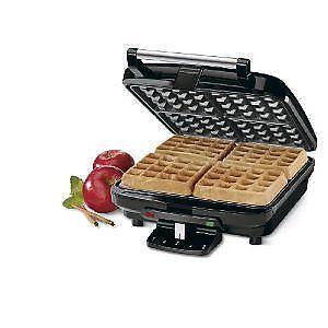Cuisinart Belgian Waffle Maker with Pancake Plate WAF-350C