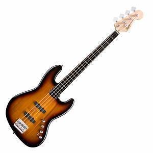 Jazz bass IV Deluxe Active 3 tone sunburst Squier *neuve