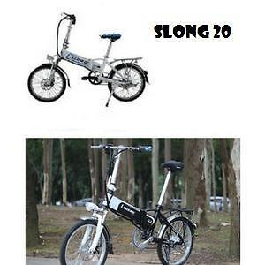 "Weekly Promotion!   20""  Aluminum alloy  Folding eBike,  slong20,White/ Black  $1150"