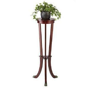 Wood Plant Stand Ebay