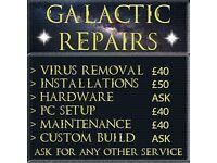 Galactic Computer Repair Service