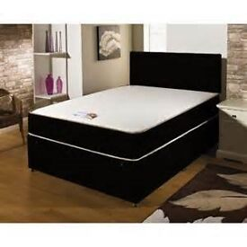 FREE Delivery BRANDNEW Double Bed Memoryfoam Mattress £149 BLACK/CREAM Delivery 7 Days a week