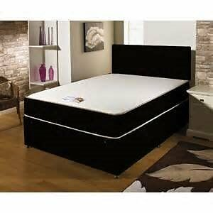 FREE Delivery BRANDNEW Double Bed Memoryfoam Mattress £169 BLACK/CREAM Delivery 7 Days a week