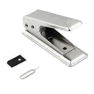 Micro SIM Card Cutter + 1 Micro SIM Card Adapter Kit Set For iPh