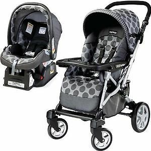 Peg Perego Book travel system stroller & car seat