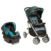 Brand new car seat and stroller set