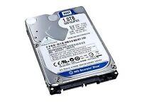 1 TB Hard drive.