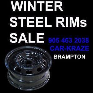 WINTER STEEL RIM HUB CENTRIC  905 463 2038 CAR KRAZE BRAMPTON