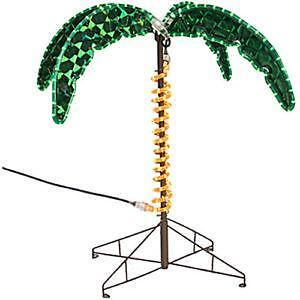 Outdoor Lighted Palm Trees