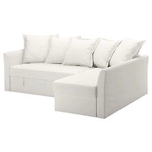 Ikea HOLMSUND Corner Sofa Bed Sectional Cover Slipcover Only RAN