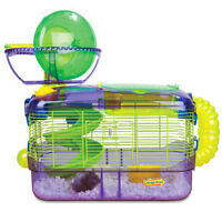 Criter trail hamster cage and accessories