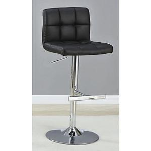 BRAND NEW - MAX GAS LIFT STOOL - BLACK , GREY & WHITE !!!