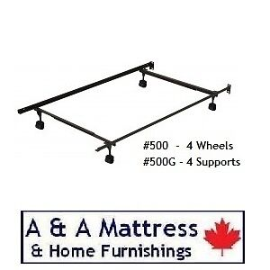 METAL BED FRAMES! Canadian Made & BUILT TO LAST! TAX Included London Ontario image 3