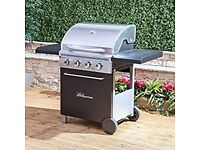 FIRE MOUNTAIN McKinley 4 Burner Gas Barbecue EX DISPLAY ONLY £100!!