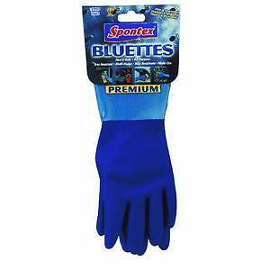 Rubber gloves for household use, Spontex Bluette, size -
