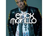 Erick Morillo Underground Tickets x2 6th May 17