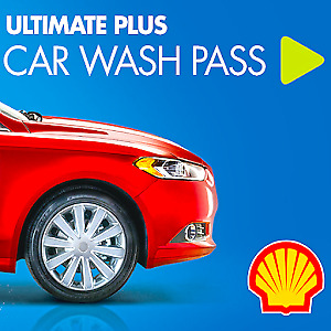 Shell 30 days Touchless Premium Car wash