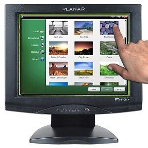 New 15 Inch Touchscreen monitor