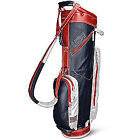 Red Leather Golf Club Bags