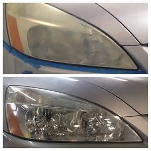 Mobile Headlight Restoration