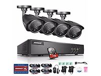 New Year Special!! 4 camera CCTV system fully installed £299!!