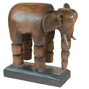 elefant holz gross ebay. Black Bedroom Furniture Sets. Home Design Ideas